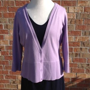 Casual Corner Annex Woman's Size XL Light Purple